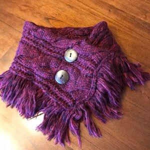 Accessories - Wine colored neck warmer/scarf